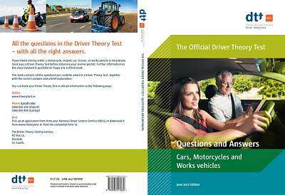 Cover of Driver Theory Test for Cars, Motorcycles & Work Vehicles - 9780995513082