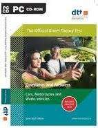 Cover of Official Driver Theory Test 8th Edition CD-Rom Motorcycles, Cars & Work Vehicles - the Department of Transport - 9780995513099