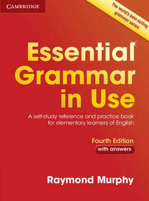 Cover of Essential Grammar in Use with Answers Elementary 4E - Raymond Murphy - 9781107480551