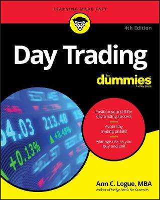 Cover of Day Trading For Dummies - Ann C. Logue - 9781119554080