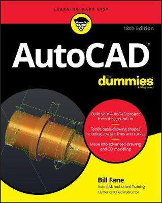 Cover of AutoCAD For Dummies - Bill Fane - 9781119580089