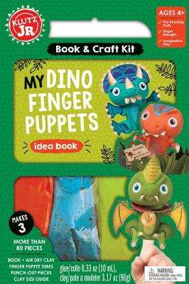 Cover of My Dino Finger Puppets - Editors of Klutz - 9781338355284