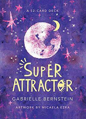 Cover of Super Attractor: A 52-Card Deck - Gabrielle Bernstein - 9781401957827