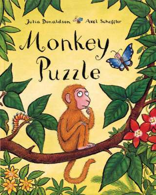 Cover of Monkey Puzzle : Big Book - Julia Donaldson - 9781405009126
