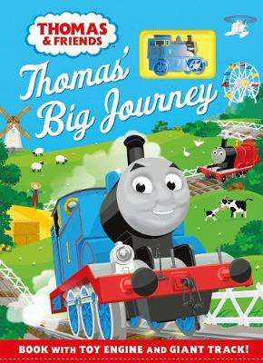 Cover of Thomas & Friends: Thomas' Big Journey: Book with toy engine and giant track! - Egmont Publishing UK - 9781405294614
