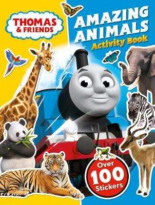 Cover of Thomas and Friends: Amazing Animals Activity Book - Egmont Publishing UK - 9781405296526