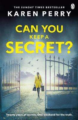 Cover of Can You Keep a Secret? - Karen Perry - 9781405920339