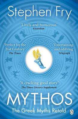 Cover of Mythos: A Retelling of the Myths of Ancient Greece - Stephen Fry - 9781405934138