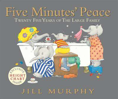 Cover of Five Minutes' Peace - Jill Murphy - 9781406330120