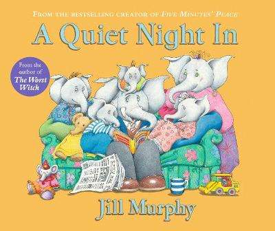 Cover of A Quiet Night in - Jill Murphy - 9781406370720