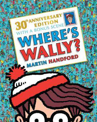 Cover of Where's Wally? 30th Anniversary Edition - Martin Handford - 9781406375695