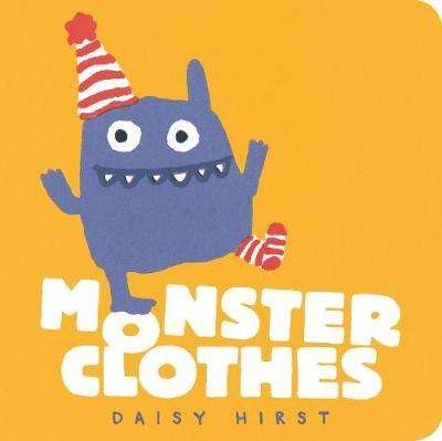 Cover of Monster Clothes - Daisy Hirst - 9781406389418