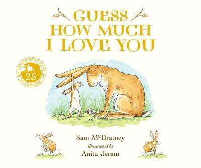 Cover of Guess How Much I Love You - Anita Jeram - 9781406391169