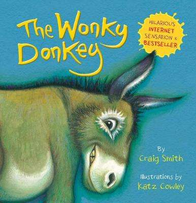 Cover of The Wonky Donkey (BB) - Craig Smith - 9781407198521