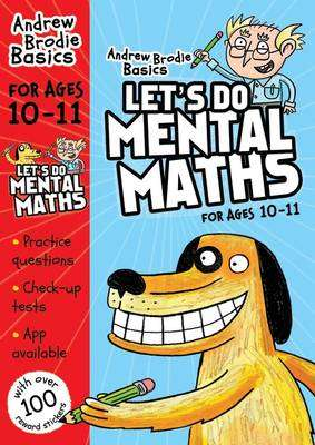 Cover of Let's Do Mental Maths for Ages 10-11 - Andrew Brodie - 9781408183427
