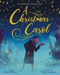 Cover of A Christmas Carol - Tony Mitton - 9781408351727