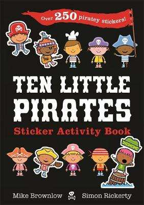 Cover of Ten Little Pirates Sticker Activity Book - Mike Brownlow - 9781408357712