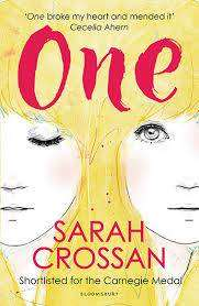 Cover of One - Sarah Crossan - 9781408827215