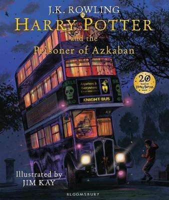 Cover of Harry Potter and the Prisoner of Azkaban (Illustrated Edition) - J. K. Rowling - 9781408845660