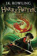 Cover of Harry Potter Book 2: Harry Potter and the Chamber of Secrets - J. K. Rowling - 9781408855669