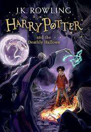 Cover of Harry Potter Book 7: Harry Potter and the Deathly Hallows - J. K. Rowling - 9781408855713