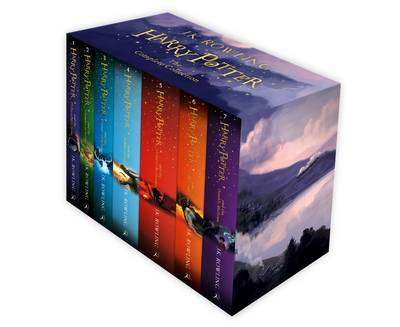 Cover of Harry Potter : The Complete Collection - J. K. Rowling - 9781408856772