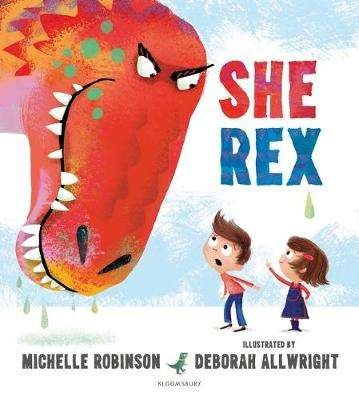 Cover of She Rex - Michelle Robinson - 9781408876084