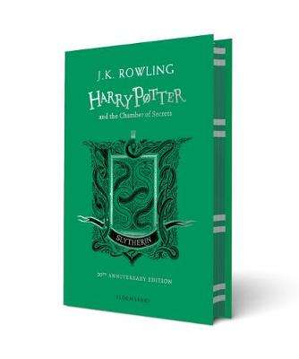 Cover of Harry Potter and the Chamber of Secrets - Slytherin Edition - J.K. Rowling - 9781408898116