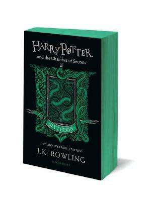 Cover of Harry Potter and the Chamber of Secrets - Slytherin Edition - J.K. Rowling - 9781408898123