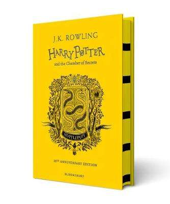 Cover of Harry Potter and the Chamber of Secrets - Hufflepuff Edition - J.K. Rowling - 9781408898154
