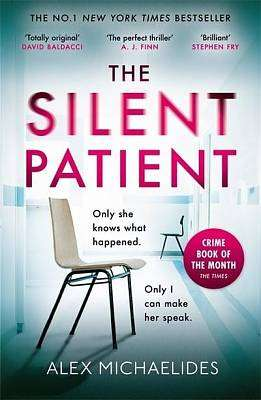 Cover of Silent Patient - Alex Michaelides - 9781409181637