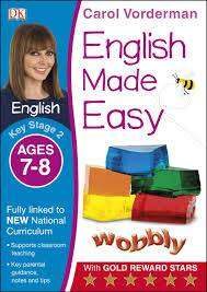 Cover of English Made Easy Ages 7-8 Key Stage 2: Ages 7-8, Key stage 2 - Carol Vorderman - 9781409344667