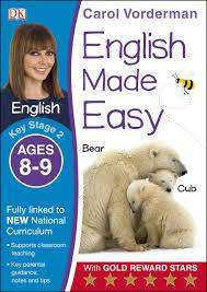 Cover of English Made Easy Ages 8-9 Key Stage 2: Ages 8-9, Key stage 2 - Carol Vorderman - 9781409344674