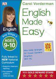 Cover of English Made Easy Ages 9-10 Key Stage 2 - Carol Vorderman - 9781409344681