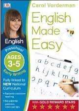 Cover of English Made Easy Early Writing Preschool Ages 3-5: Ages 3-5 preschool - Carol Vorderman - 9781409344704