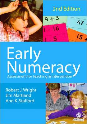 Cover of Blue Early Numeracy - Jim Martland - 9781412910200