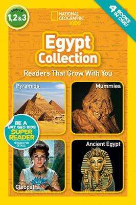 Cover of National Geographic Reader: Egypt Collection (National Geographic Readers) - National Geogra - 9781426338441