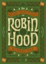 Cover of The Merry Adventures of Robin Hood - Howard Pyle - 9781435144743