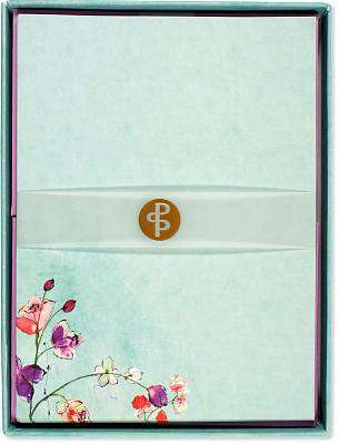 Cover of Fuchsia Blooms Stationery Set - Peter Pauper Press - 9781441315649