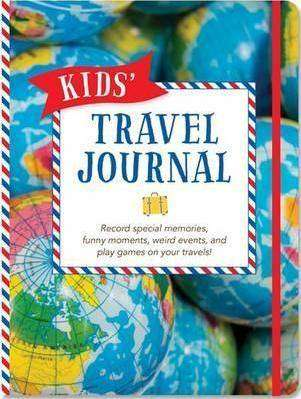 Cover of Kids' Travel Journal - Peter Pauper Press - 9781441318145