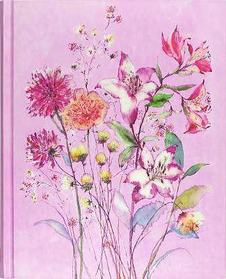 Cover of Journal Oversized Purple Wildflowers - Peter Pauper Press - 9781441332301