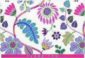 Cover of Thank you cards Fantasy Floral - Peter Pauper Press - 9781441332349