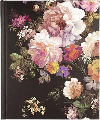 Cover of Journal Oversized Midnight Floral - Peter Pauper Press - 9781441333018