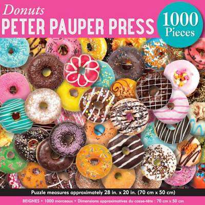 Cover of Donuts  - 1000 Piece Jigsaw Puzzle - Peter Pauper Press - 9781441334954
