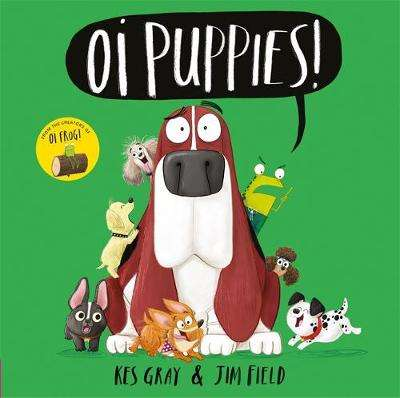 Cover of Oi Puppies! - Kes Gray - 9781444937367