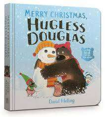 Cover of Merry Christmas, Hugless Douglas Board Book - David Melling - 9781444947007
