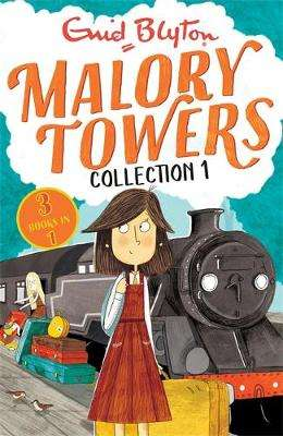 Cover of Malory Towers Collection 1: Books 1-3 - Enid Blyton - 9781444955330