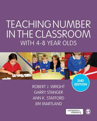 Cover of Purple Teaching Number in the Classroom With 4-8 Year Olds 2e - Robert J. Wright - 9781446282694