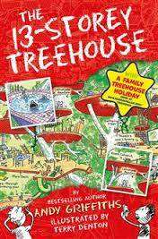 Cover of 13-Storey Treehouse - Andy Griffiths - 9781447279785