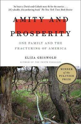 Cover of Amity and Prosperity: One Family and the Fracturing of America - Eliza Griswold - 9781472268723